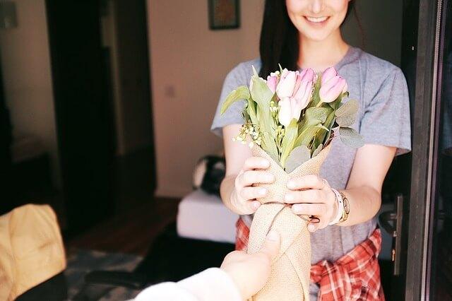 Kuva: Kukka on aina sopiva lahjaidea